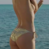 Bikini strip tease video