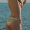 Bikini strip tease video