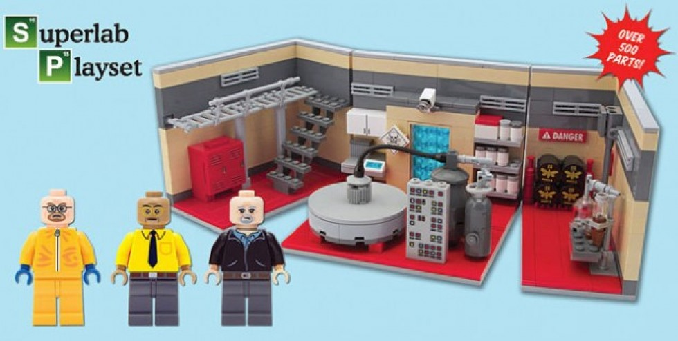 Build Your Own Meth Lab With 'Breaking Bad' Lego Set