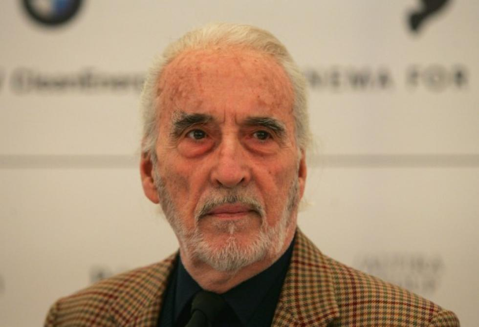 92 year old horror icon christopher lee releases 2014 christmas metal album - Christopher Lee Metal Christmas