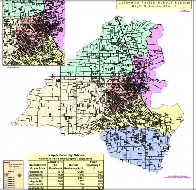 Citaten School Zone : New school zone maps for lafayette parish schools